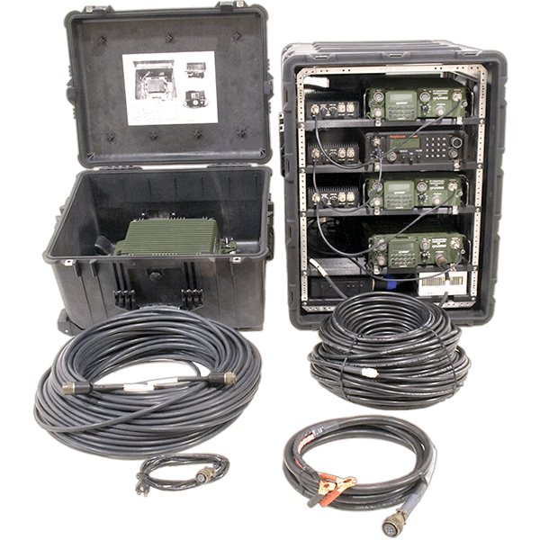 Integrated SATCOM, Multi-Band and HF Cases