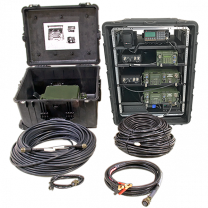 4 Transceivers Integrated Marine VHF Case - ABP-ITCC-7V-NS