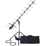 Foldable, High gain SATCOM Antenna for Command Post, TOC and Shelter